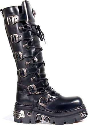 NEWROCK NEW ROCK 106-S29 Black Unisex Goth Punk Emo Tower Platform Trendy Shoes