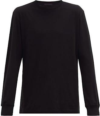 Wardrobe.NYC Wardrobe.nyc - Release 05 Crew-neck Cotton Long-sleeved T-shirt - Mens - Black