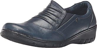 Easy Street Womens Proctor Flat, Navy/Gore, 6.5 M US