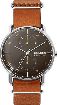 Skagen Relógio Quartz Horizont - Homem - Marrom - Único US