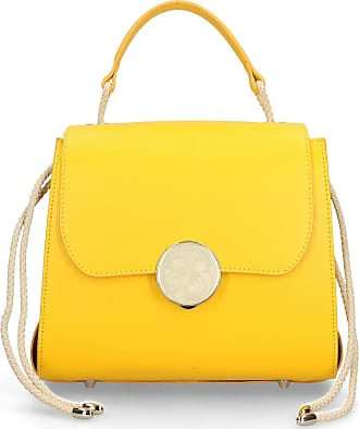Chicca Borse Handbag in genuine leather made in Italy - 21x24x15 Cm