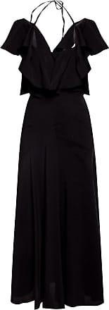 Lanvin Bare Back Dress Womens Black