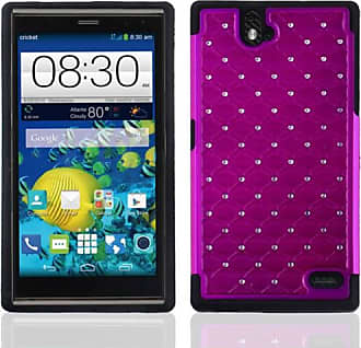 Mundaze Mundaze Purple Diamond Double Layered Case for ZTE Grand X Max