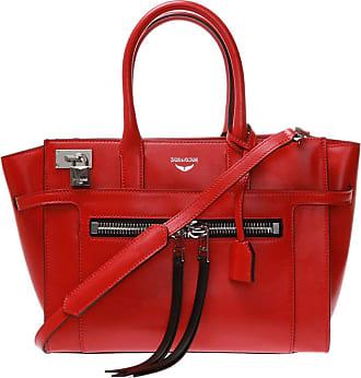 Zadig & Voltaire Candide Shoulder Bag Womens Red