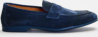 Doucal's mocassino scamosciato - blu