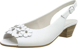 Gabor Shoes Womens Comfort Basic Ankle Strap Sandals, White (Weiss 50), 3 UK (35.5 EU)