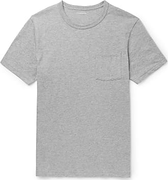J.crew Slim-fit Garment-dyed Mélange Cotton-jersey T-shirt - Gray