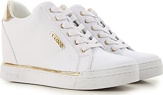 204a05c9996a7a Guess Sneaker Donna On Sale, Bianco, pelle, 2017, 39