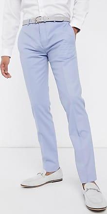 Twisted Tailor Pantaloni da abito blu pastello