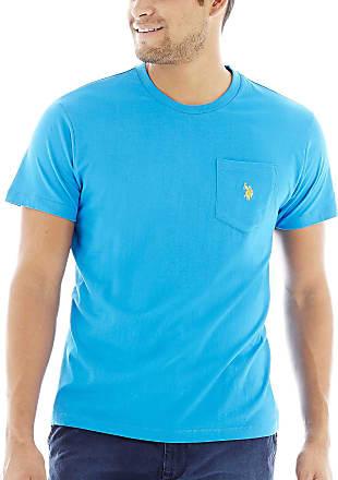 POLO ASSN U.S Color Group 1 of 2 Mens Crew Neck Pocket T-Shirt