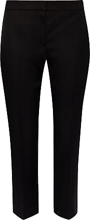 Alexander McQueen Pleat-front Trousers Womens Black
