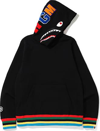 A Bathing Ape Shark Line Rib hoodie