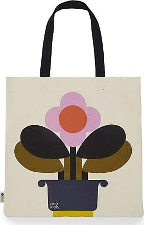 Orla Kiely Book Bag - Amethyst