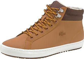 Lacoste Sneaker Straightset Thermo dunkelbraun / cognac