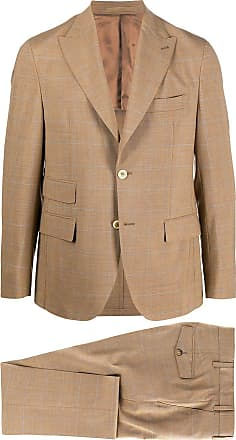 Eleventy fitted two-piece suit - NEUTRALS