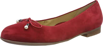Ara Womens Sardinia 1231324 Closed Toe Ballet Flats, Red Rot 15, 6.5 UK
