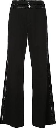 Natori Calça jeans pantalona - Preto