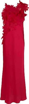 Gloria Coelho Vestido longo aplicação - Vermelho