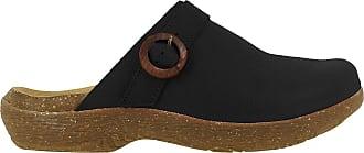 El Naturalista WAKATIWAI Womens Clogs Black Size: 5 UK