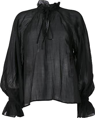 Karen Walker Blusa Basalt - Di colore nero