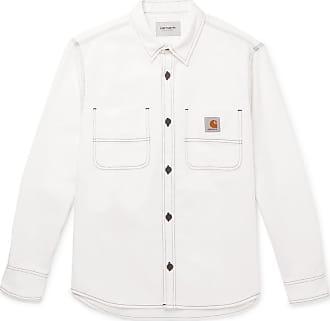 Carhartt Work in Progress Cotton-twill Overshirt - White