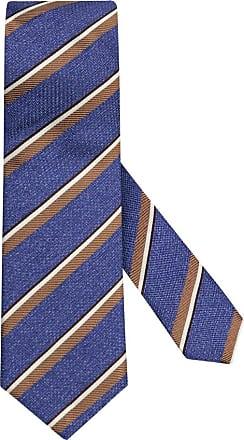 Altea Übergröße : Altea, Krawatte mit Streifen-Muster in Blau für Herren
