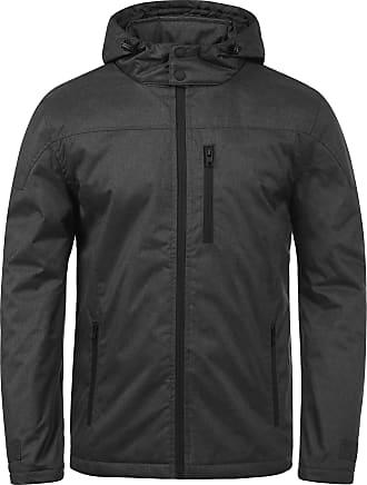 Solid Matheo Mens Jacket, Size:XL, Colour:Black Melange (9000M)