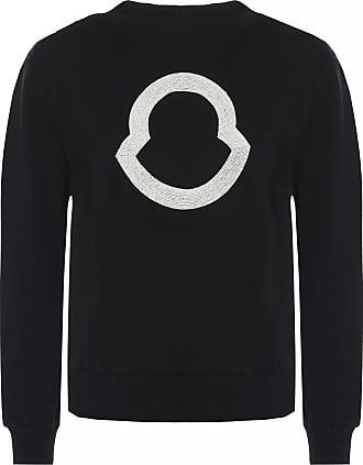 Moncler Logo Sweatshirt Womens Black