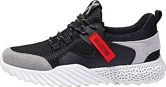 Generic Mens Sports Casual Running Shoes Walking Jogging Gym Sneakers Comfortable Breathable Fashion Trainers Athletic Mesh Black