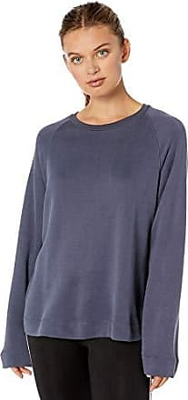 Majestic Filatures Womens Cotton//Cashmere Blend Double-face Crew Neck Pullover