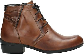 Wolky Comfort Lace up Shoes Delano - 30430 Cognac Leather - 41