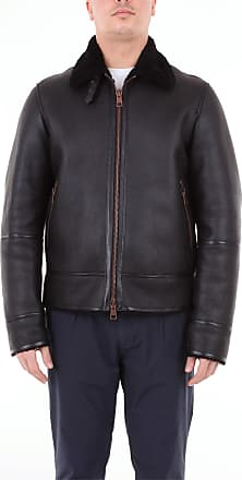 Tagliatore Leather jackets Black