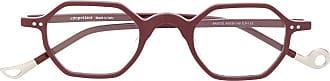 Eyepetizer Armação de óculos Bristol - Vermelho