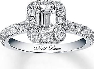 Neil Lane Bridal 1-3/8 ct tw Diamond Ring 14K White Gold