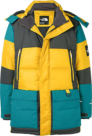 The North Face hooded feather down jacket - Yellow