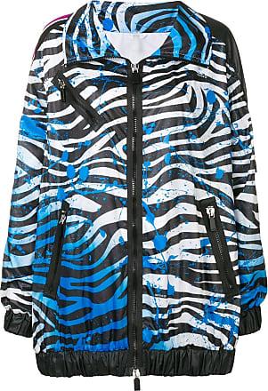 No Ka'Oi zebra print performance jacket - Blue