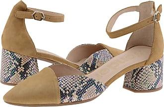 Wonders I-8002 High Heel Leather Shoes Size: 3 Color: Chestnut