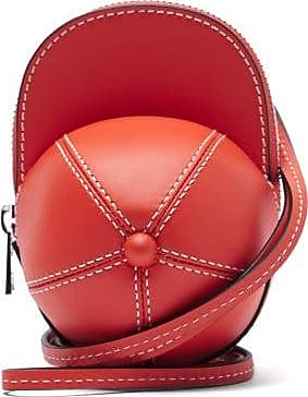 J.W.Anderson Nano Cap Leather Bag - Womens - Red