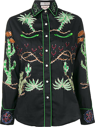 Jessie Western Wagon Wheel shirt - Preto