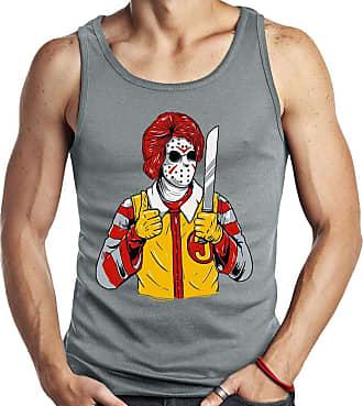 Dragon Store Camiseta Regata Serial Kilo palhaço assassino Parodia Jason Sem Manga