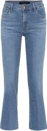 J Brand Selena mid-rise boot cut jeans