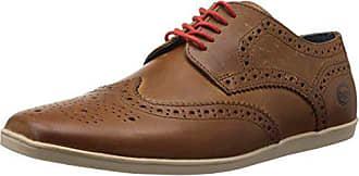 f658ce9a6 Base London Shore - Zapatos de cordones de cuero para hombre marrón Marron  (241 Pull