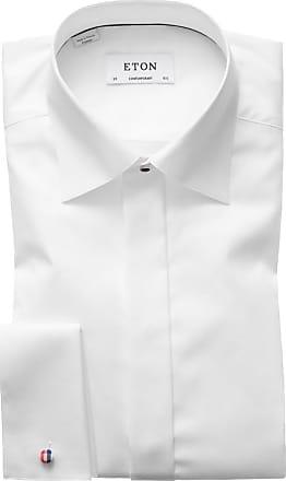 Eton Businesshemd, Contemporary Fit von Eton in Weiss für Herren