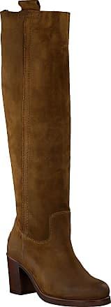 Shabbies Amsterdam Braune Shabbies Hohe Stiefel 193020037