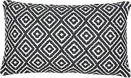 Ondine Ash Iris Grey Diamond Cushion