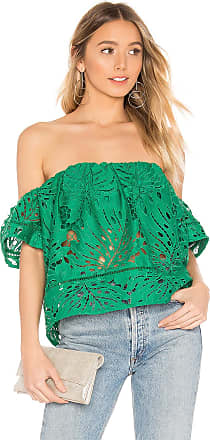 Lovers + Friends Lifes A Beach Top in Green