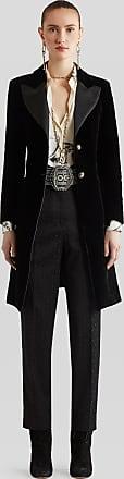 Etro Tailored Jacquard Trousers, Woman, Black, Size 42
