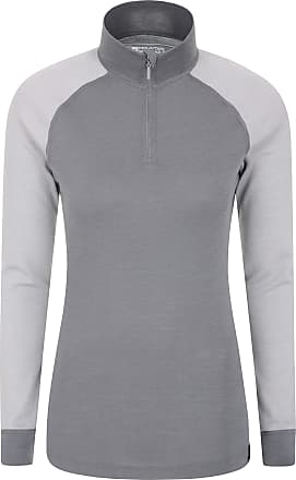 Mountain Warehouse Seamless Youth Round Neck Spring Top Long Sleeve