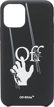 Off-white hand-off iPhone 11 pro case - Preto