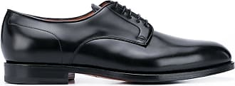 Santoni Sapato derby Kenneth - Preto